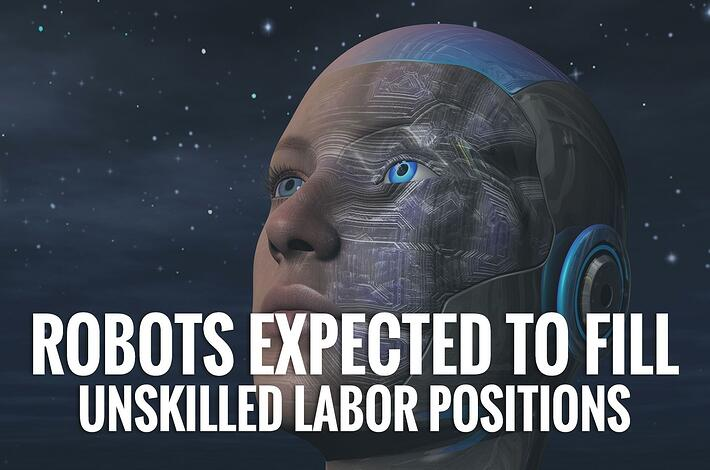 Robots Expected to Fill Unskilled Labor Positions in the Coming Decades
