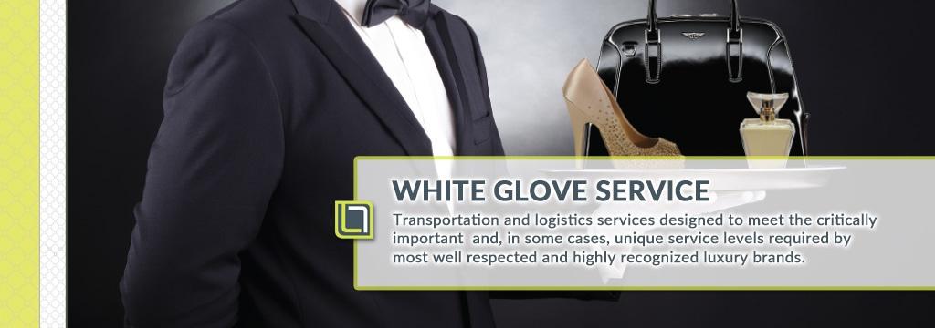 white glove services logistics company